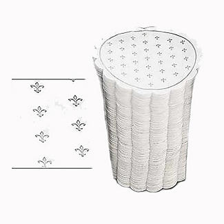 200 Soak Up Disposable Paper Drinks Coasters  alt image 1