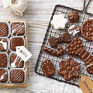 Festive Cookie & Chocolate Moulds