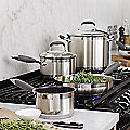 All Lakeland Stainless Steel Pans