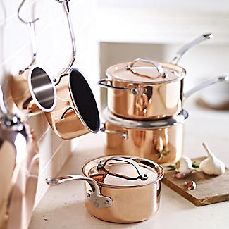All Copper Tri-Ply Pans
