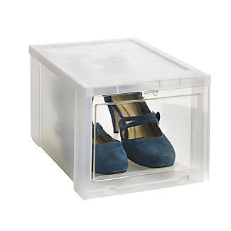Aufbewahrungsboxen für Schuhe mit Öffnung vorn