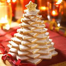 vanilla christmas cookie tree