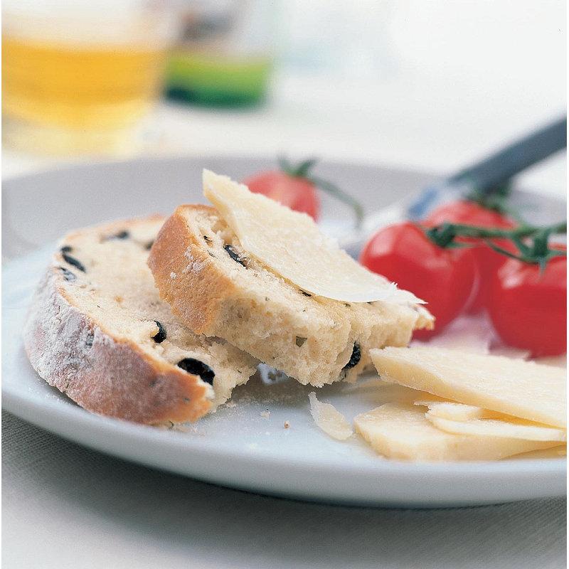 Olive bread with oregano