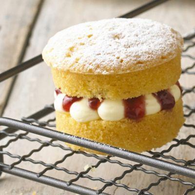 Mini Victoria Sponge Cakes Cake Recipes Lakeland
