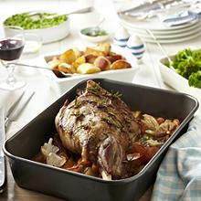 Rosemary & Garlic Roast Lamb