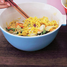 Hot Chilli Prawn Noodles