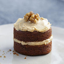 Mini Coffee & Walnut Cakes