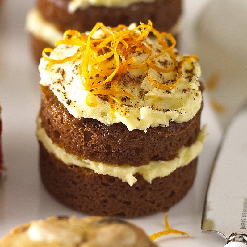 Mini Ginger Cakes Minibites Recipes Lakeland