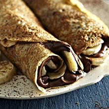 Chocolate and Banana Pancake Filling