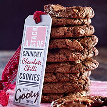 Double Choc-Chip Chilli Cookies