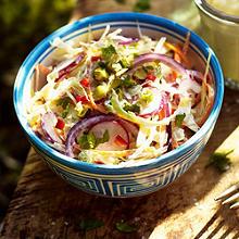 Weißkohlsalat mit Fenchel