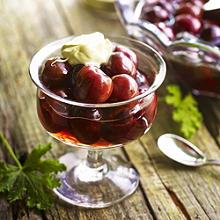 Cherries Preserved In Brandy