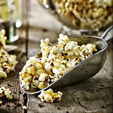 Buttery Caramel Popcorn with Chocolate Coated Popping Candy
