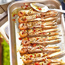 Langoustines With Chilli & Lime