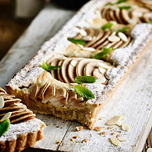 Pear & Almond Tart