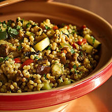 Spiced Israeli Vegetable Couscous
