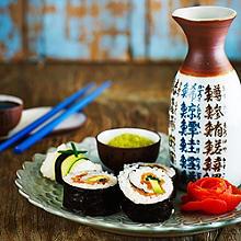 Smoked Salmon & Avocado Sushi
