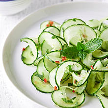 Asian-Style Cucumber & Mint Salad