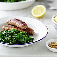 Lemon Kale With Garlic