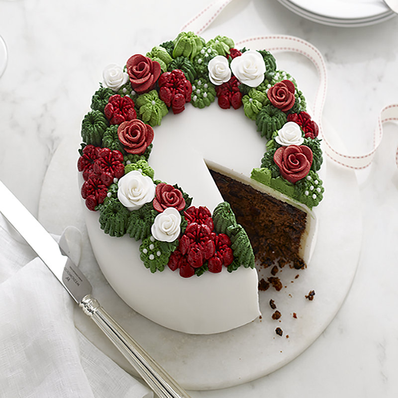Wreath Flower Cake
