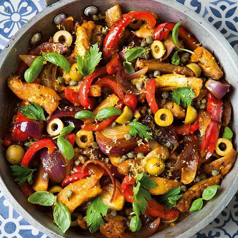 Davina S Spanish Chicken Healthy Eating Recipes Lakeland