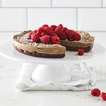 Lucy Bee's Raw Chocolate Cheesecake