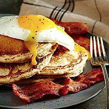 Fluffy Spelt Pancakes