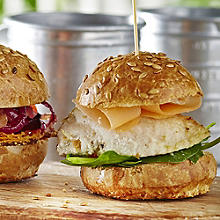 Fragrant Ginger & Lime Chicken Sliders