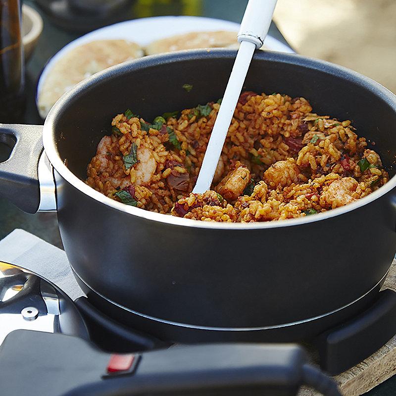 Prawns With Spiced Rice