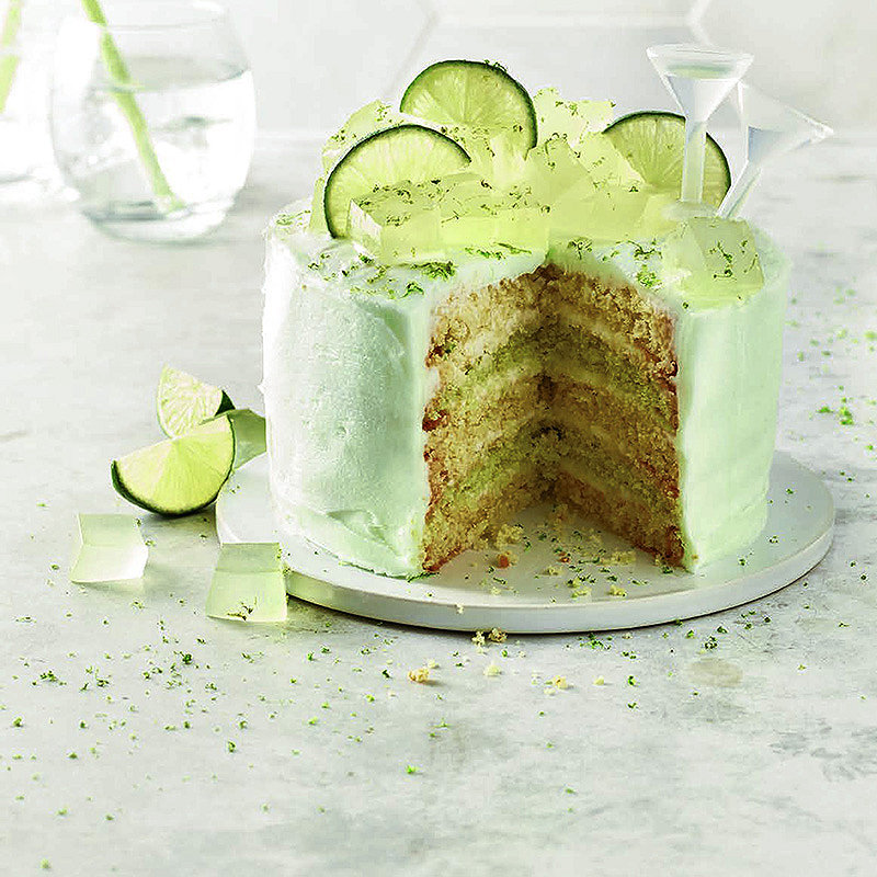 Gin tonic layer cake original cake recipes lakeland gin tonic layer cake original forumfinder Image collections