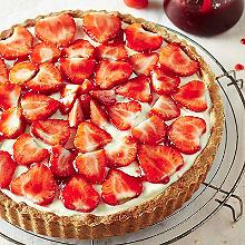 Classic Strawberry Tart - Serves 4-6