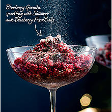 Blueberry Granita Sparkling with Shimmer & Blueberry PopaBalls